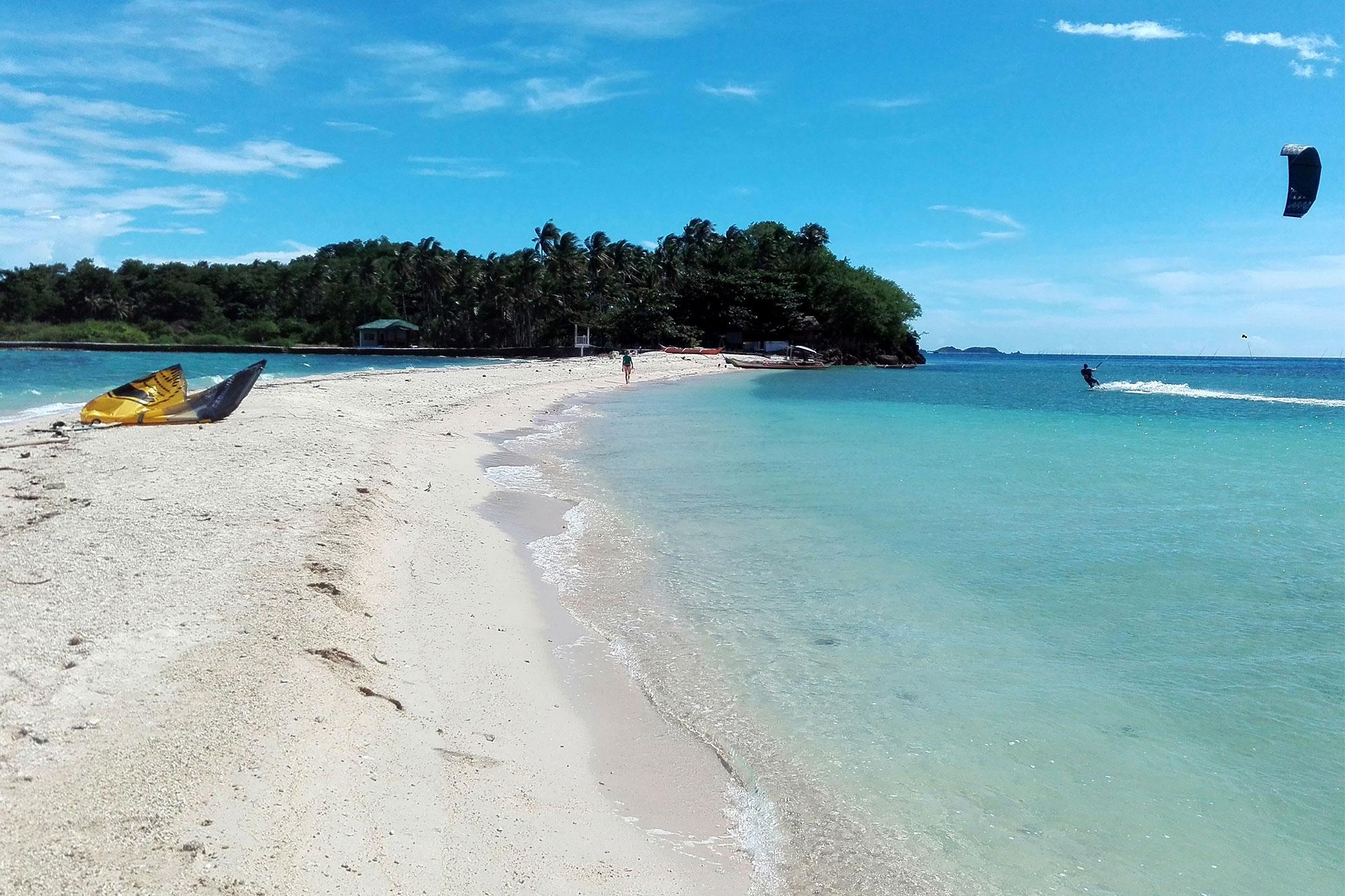 Kiten auf Mindoro