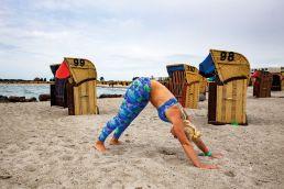 Yoga für Kiter - der Hund