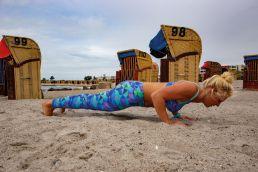 Yoga für Kiter - die Yoga-Liegestütz