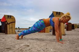 Yoga für Kiter - die Planke