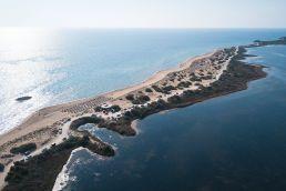 Kiten auf Korfu