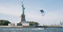 Stefan Spiessberger kitet in New York