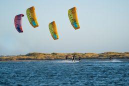 Kiter in Safety Bay in Australien