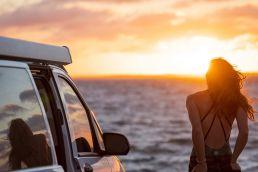 Leni Finke beim Kite-Roadtrip durch Australien