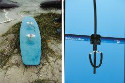Kite-Equipmentin den 90er Jahren