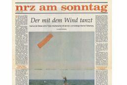 Zeitungsartikel über Norman Falkenberg