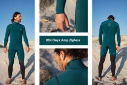 Neoprenanzug ohne Reisverschluss ION Onyx Amp