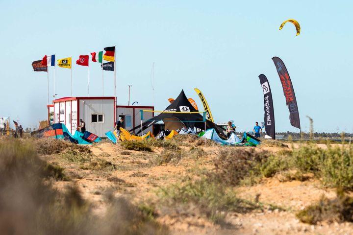 Station von Kiteworldwide auf Djerba