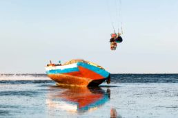 Kiten auf Djerba