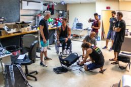 Fernando Fernandes entwickelt mit dem Cabrinha-Team ein Kitesystem für Querschnittsgelähmte