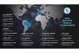 Karte der GKA World Tour 2020