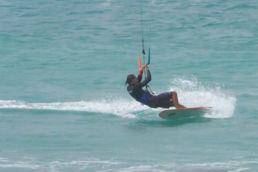 Michael Vogel erklärt die Wende auf einem Directional-Kiteboard