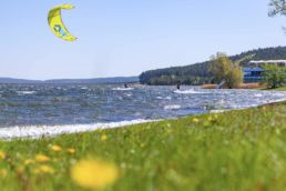 Kiter am Brombachsee