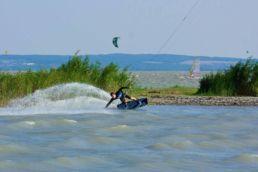 Kiter am Neusiedler See