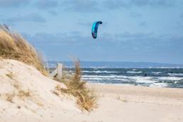Kiten auf Rügen