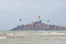 Kiter in der Toskana