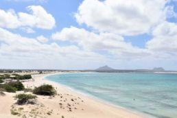 Der Kitebeach an der Ostküste von Boa Vista