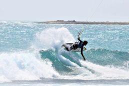 Kiter in Ervatao auf Boa Vista