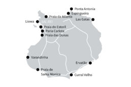 Karte von Boa Vista