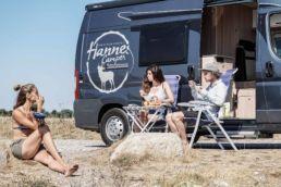 Camping mit einem Bus von Hannes Camper