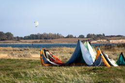 Kite-Test auf der dänischen InselFyn