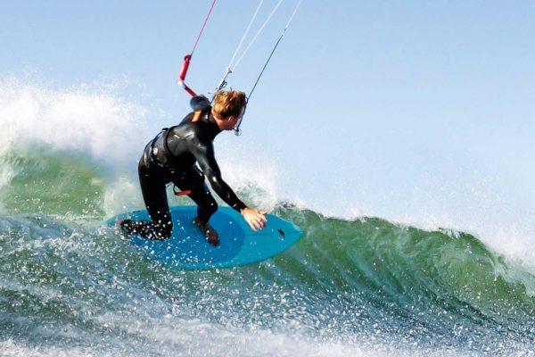 Das Shodow von F-One im Wavetest