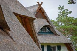 Ein Reetdach-Haus auf Rügen