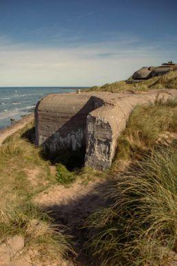 Bunkerrest im dänischen Hirtshals