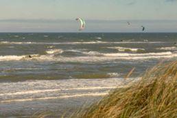 Kitespot in Tversted, Dänemark