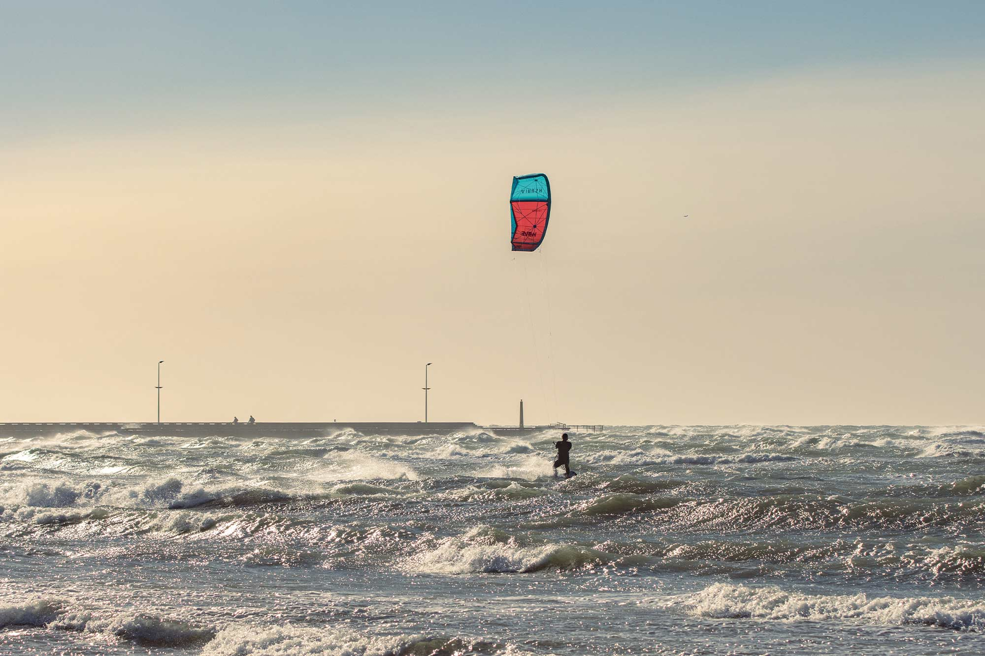 Kiter in Dänemark